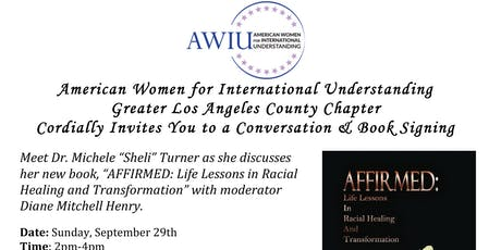 RACIAL HEALING AND TRANSFORMATION CONVERSATION WITH AUTHOR  SHELI  TURNER tickets