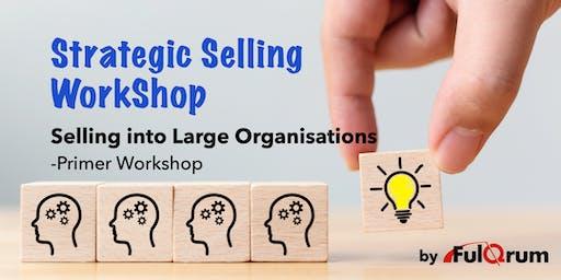 Strategic Selling Skills Workshop for selling into large organisations
