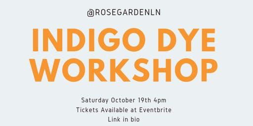 Indigo Dye Workshop