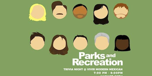 Parks and Recreation Trivia + Tacos + Tequila