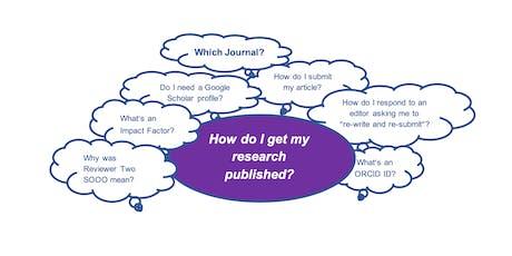 RMIT EU Centre ECR Workshop: Publishing Your Research tickets