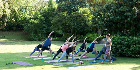 Outdoor Yoga for Charity tickets