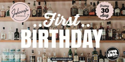 Johnny's Emporium 1st Birthday