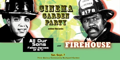Cinema Garden Party: ALL OUR SONS + FIREHOUSE tickets