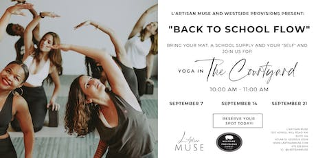 Back to School Yoga with L'Artisan Muse tickets