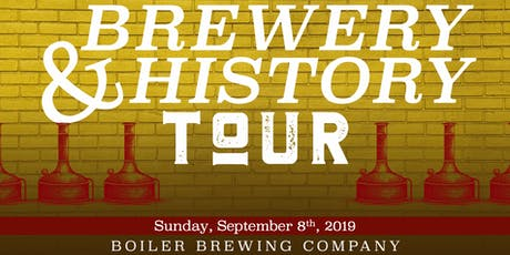 Brewery and History Tour tickets