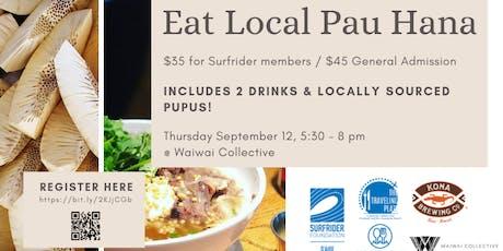 Eat Local Pau Hana for Traveling Plate Hawaii tickets