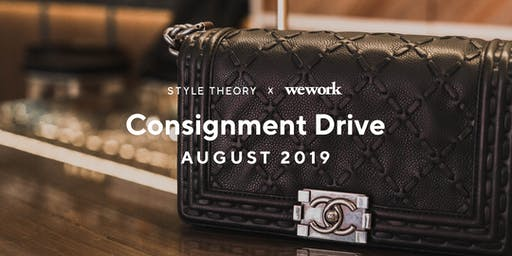 Style Theory x WeWork: Designer Bag Consignment Drive - 29 & 30 Aug 2019
