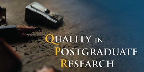 ARTN (Australasian Research Training Network) 13& 14(15)April QPR 2021 - Quality in Postgraduate Research Conference: Success in doctoral education: perspectives on research training tickets