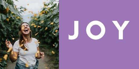"""BOLD Goals - August Workshop on """"Joy"""" tickets"""