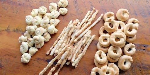 Baking Class: Savoury Italian Treats (Taralli, Grissini, Biscotti di Vino) - SOLD OUT