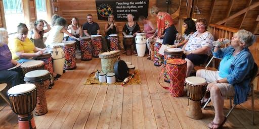 Sip & Drum- Equinox Jam