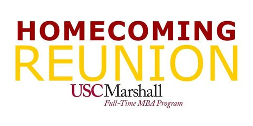 USC Homecoming Reunion: Marshall Full-Time MBA Program (Oct 2019)