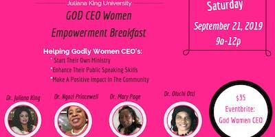 God Women CEO: Women Empowerment Breakfast