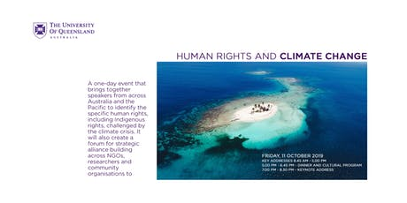 Human Rights and Climate Change  -- 1 Day Conference tickets