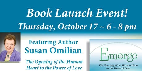 """""""Emerge"""" Booksigning Event for Susan Omilian Oct 17 2019 tickets"""