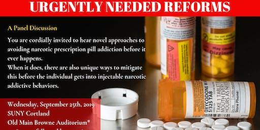 Opioid Pill Prescribing, Addiction Prevention & Treatment