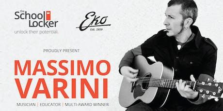 Massimo Varini: Musician | Educator | Multi-award Winner tickets