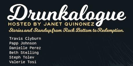 Drunkalogue Comedy Show - Sep 11 - FREE tickets