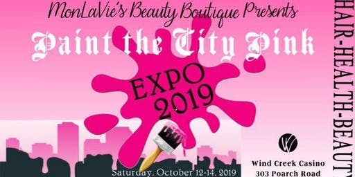 Paint The City Pink Hair, Health and Beauty Expo