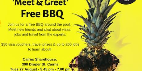 Cairns Sharehouse Meet & Greet - Working Travellers welcome! tickets