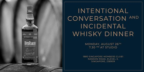 1880 | Intentional Conversation and Incidental Whisky Dinner tickets