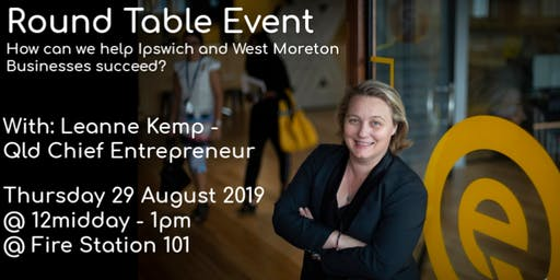 Business development providers round table - Ipswich and West Moreton