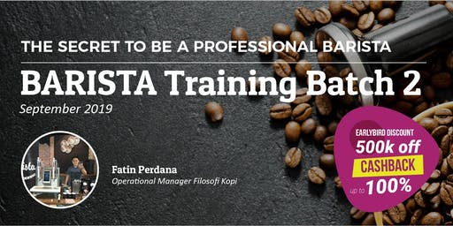 Pelatihan Barista Batch 2 STAR4Hire