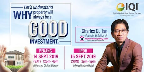 Let's understand WHY property will always be a good investment tickets