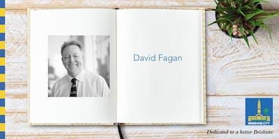 Australian Reading Hour: Meet David Fagan - Brisbane Square Library