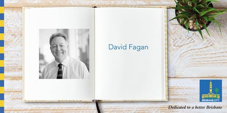Australian Reading Hour: Meet David Fagan - Brisbane Square Library tickets