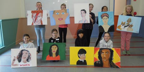 SELFIE SELF- PORTRAITS (painting) for 9 – 14 year olds tickets