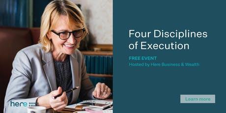 The Four Disciplines of Execution tickets