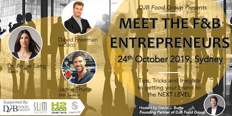 Meet Australia's Leading F&B Entrepreneurs tickets