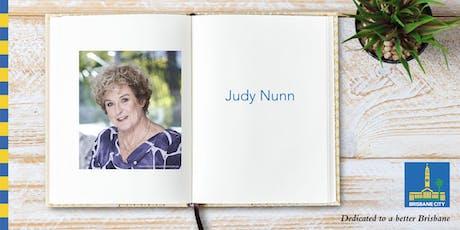 Meet Judy Nunn - Wynnum Library tickets
