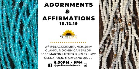 Adornments & Affirmations tickets