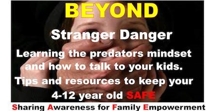 KEEPING YOUR CHILDREN 4-12 YRS SAFE SEMINAR IN KIRKLAND/REDMOND, WA tickets