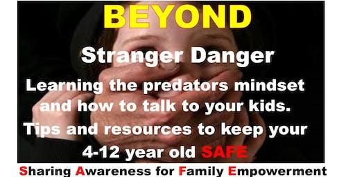 KEEPING YOUR CHILDREN 4-12 YRS SAFE SEMINAR IN KIRKLAND/REDMOND, WA
