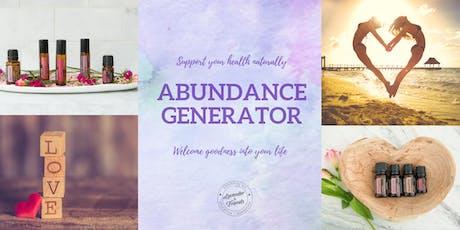 Abundance Generator ONLINE EVENT tickets