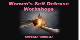 4 HOUR WOMEN SELF DEFENSE WORKSHOP  -  ONLY $35
