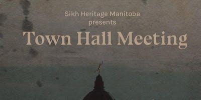 Sikh Heritage Manitoba Town Hall Meeting