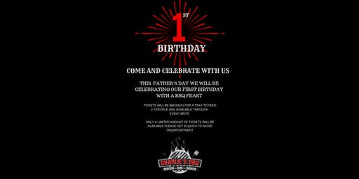 Charlies BBQ 1st Birthday & Fathers day Event