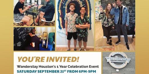 Wanderstay Houston Hostel **1 Year Anniversary**