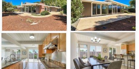 I'm hosting an open house: 1728 Yorktown Road, San Mateo CA tickets