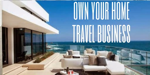 OWN YOUR TRAVEL BUSINESS. EARN INCOME FROM HOME.