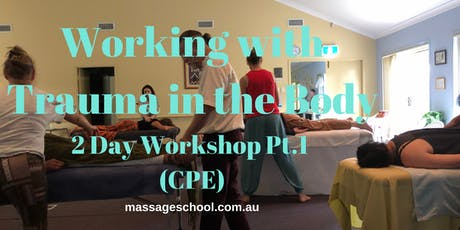 Working with Trauma in the Body Pt.1 - CPE Event (14hrs) tickets