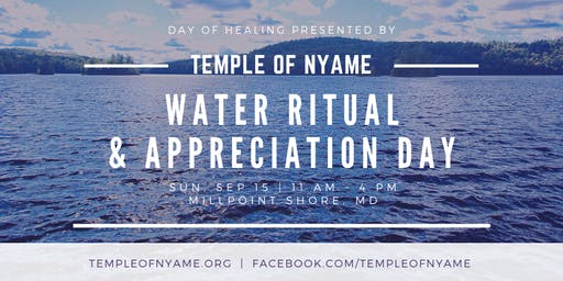 Water Ritual and Appreciation Day 2019 [FREE]