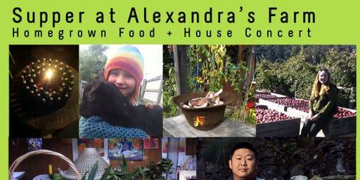 Supper and House Concert at Alexandra's Farm