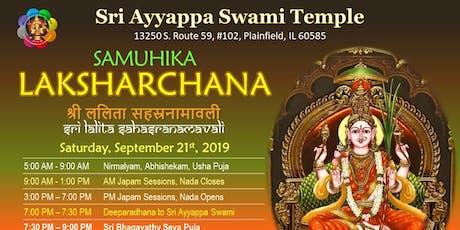 Samuhika LAKSHARCHANA - Sri Lalitha Sahasranamavali Japam tickets