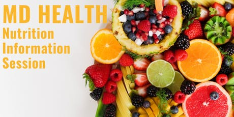 MD Health Nutrition Information Session: Why am I not losing weight? tickets